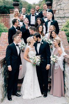 5f13cd32eb0 Melissa+and+Eric s+Classic+Wedding+in+Saint+Louis Black
