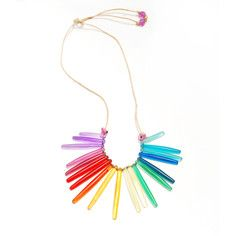Desert Necklace Rainbow, $35, now featured on Fab.