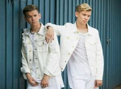 Pop singers Marcus & Martinus pose for a portrait session before honouring Crown Princess Victoria on the ocassion of her birthday at Victoriagarden on July 2017 in Borgholm, Sweden. Get premium, high resolution news photos at Getty Images Instagram 2017, Crown Princess Victoria, Creative Video, Pop Singers, Stock Pictures, Portrait, Image Now, Image Collection, Royalty Free Photos