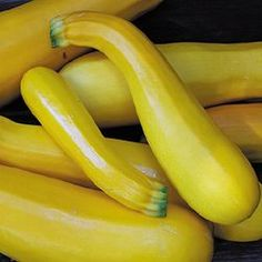 Squash Zucchini Golden- There glossy bright yellow and are firm, tender, Crisp and mild-flavored delicious with creamy yellow- white flesh use as other zucchini try grilled, fresh, and steamed.