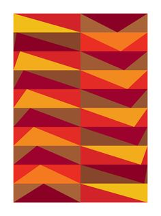 geometric : triangle : stripe : zigzag : Gary Andrew Clarke © 2010 by Graphic Nothing, via Flickr