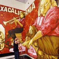 Oaxacalifornia dreaming: L.A. library mural project looks at a visual language that transcends borders