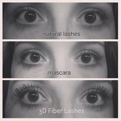How to have GORGEOUS, NATURAL lashes!  Younique's 3 D Fiber Lashes!  #beauty #younique #mineralmakeup #3dfiberlashes