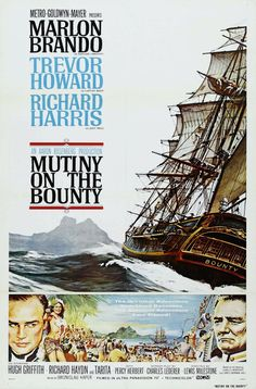 Poster for MUTINY ON THE BOUNTY (1962)