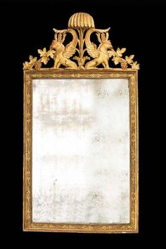 18th Century North European Mirror