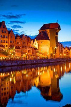 Waterfront, Gdansk, Poland