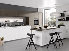 Nolte Kitchen Have High Base Units Which Can Create Fantastic Kitchens.