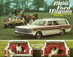 1966 Ford Country Squire Station Wagon   by coconv