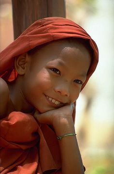 Inner serenity- Myanmar (by mistral-) Young monk