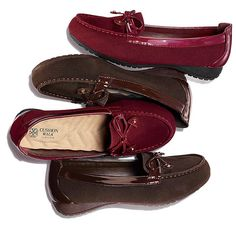Style and comfort, is that possible? With the Cushion Walk Pamela Loafer it is! Supple faux suede meets our famously plush wave-molded insole for a rich look and feel. You'll stay stylish with the little lift and comfortable with the Cushion Walk sole. Regularly $34.99, shop Avon Fashion online at http://eseagren.avonrepresentative.com