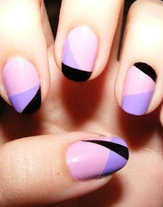 101 nail art ideas...now that my nails are growing & I can wear polish at work!