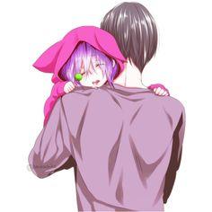 ~~~ヾ(^∇^) ❤ liked on Polyvore featuring anime