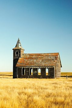 Abandoned church  http://firsthemet.org  #baptistchurch #baptistchurchhemet