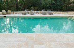 Coeur d'Alene Limestone Full Color Paving & Pool Coping – Custom Tumbled Paving