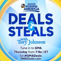 If you love ColorMetrics and our products, be sure to tune into ABC' Good Morning America's Deals and Steals tomorrow Thursday, April Gma Deals And Steals, Abc Good Morning America, Nursing Jobs, Love You, Opi Products, Waterproof Phone, Thursday Morning, April 7, Te Amo