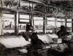 Rooftops,  Edward Hopper