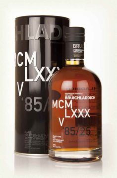 Bruichladdich DNA 3rd Edition MCMLXXXV [Review] #scotch #whisky #whiskey #malt #singlemalt #Scotland #cigars
