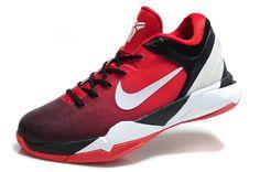 Nike Zoom Kobe VII iD Fade Option Sport Red White Shop Kobe Shoes 2013