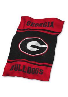 Georgia Bulldogs Ultra Soft Raschel Blanket