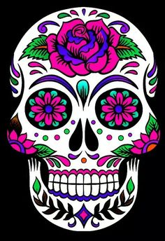 Sugar Skull Tattoos Sugar Skull Art Sugar Skulls Sugar Skull Design Mexican Skull Art Santa Muerte Day Of The Dead Skull Body Art Tattoos Crane Day Of The Dead Skull Tattoo, Day Of The Dead Drawing, Day Of The Dead Artwork, Day Of Dead, Sugar Skull Artwork, Sugar Skull Painting, Sugar Skull Wallpaper, Sugar Skull Drawings, Body Painting