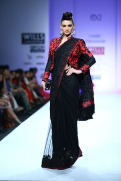 Charu Parashar Fall/Winter 2014-15 The designer's collection at Wills India Fashion Week
