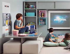 #Cuartos de #juegos para #niños