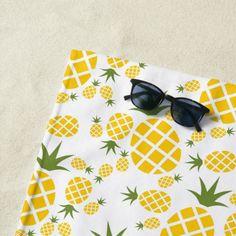 #beachtowel #beach #towel #pineapple #summer #tropical #trendy