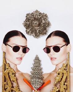 Ladysaint Sass and Bide eyewear