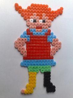 Pippi / Hama perler beads  / Bügelperlen