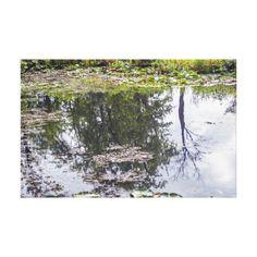 Reflections of Summer Landscape Summer Landscape, Canvas Art Prints, Wrapped Canvas, Reflection, Tapestry, Outdoor, Hanging Tapestry, Outdoors, Tapestries