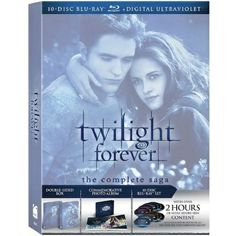 Twilight Forever: The Complete Saga Box Set [Blu-ray]