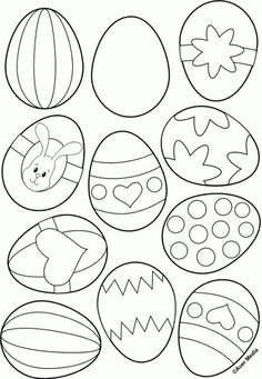 easter kids crafts Free Easter Colouring Pages- Free Easter Colouring Pages Free Printable Easter colouring pages for all ages to print and enjoy, allow the kids to get creative using these colouring pages. Free Easter Coloring Pages, Coloring Easter Eggs, Colouring Pages For Kids, Colouring Sheets, Coloring Book, Easter Art, Easter Decor, Easter Projects, Art Projects