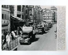 Press Photo 68 新闻老照片-广州反共游行 1949