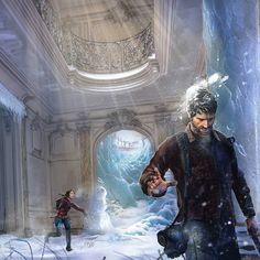One of the Best Christmas Style Pieces I've found so Far! Catch! By Louise Meijer #LastofUs #LastofUs2 #LastofUsPart2 #NaughtyDog #ConceptArt #Art #Fanart #GameArt #Fantasy #Scifi #Gaming #VideoGames #Games #Christmas #Playstation #Winter #snow #game #videogame #painting #drawing #digitalart #digitalpainting #characterart #characterdesign #character #digital #insidific #instagram