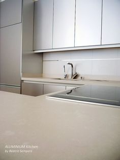 Aluminium Kitchen by Beatriz Sempere, via Flickr