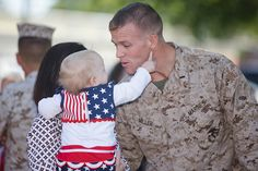 Dad, You're Number One by United States Marine Corps Official Page. Military Love, Military Spouse, Military Families, Military Veterans, Once A Marine, Military Homecoming, Support Our Troops, Us Marines, American Pride