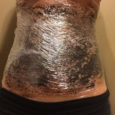 DIY coffee wrap! Reduce stretch marks and cellulite with this natural remedy!