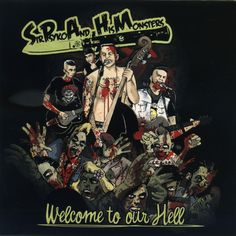Sir Psyko and His Monsters - Welcome to Our Hell (Crazy Love Records) [F...