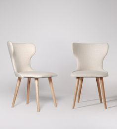 Etta Willow Dining Chair, Set Of Two | Swoon