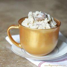 Crock Pot Garlic Parmesan Mashed Potatoes recipe via www.thepinningmama.com