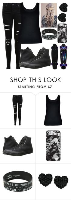 """Random"" by kirra-1994 ❤ liked on Polyvore featuring Miss Selfridge, City Chic, Converse, Casetify and Betsey Johnson"