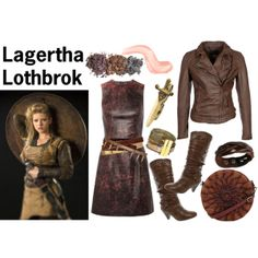 Lagertha Lothbrok Vikings Outfits