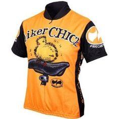 Biker Chick Short Sleeve Women s Cycling Jersey Bike Wear dbcd3413a