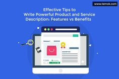 Having a great product or service description is the first step to get more conversions. Most of the online business brands don't pay much attention to their product descriptions Product Information, Business Branding, First Step, Online Business, Digital Marketing, Benefit, Web Design, How To Get, Social Media