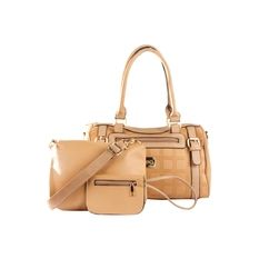 Elena 5676 Premium Bag Set (Khaki)