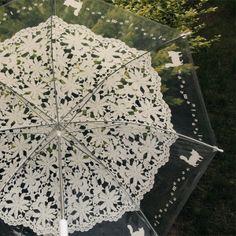 Lace transparence umbrella