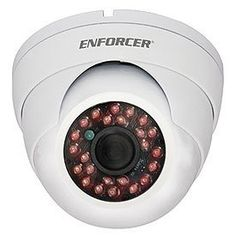 SECO-LARM Enforcer 24 IR LED Indoor/Outdoor Vandal-Resistant Color Dome Camera, White by Seco-Larm. $67.99. If you are looking for a high quality dome camera at an affordable price, the 24 IR LED Indoor/Outdoor Vandal-Resistant Color Dome Camera is the one for you. It is equipped with a 1/3 Sony Super HAD Color CCD lens and 24 IR LEDs that puts out an amazing 4