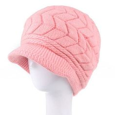 New Women Hat Winter Beanies Knitted Hats For Woman Rabbit Fur Cap Autumn And Winter Ladies Fashion Skullies