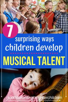 Here are 7 ways to develop, recognize and nurture your child's musical talent. The ways to recognize musical talent just may surprise you! Music Activities For Kids, Brain Activities, Music For Kids, Kindergarten Activities, Therapy Activities, Infant Activities, Kids Learning, Teen Songs, Teaching Music