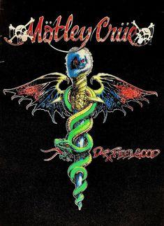 VTG 80 1989 MOTLEY CRUE DR FEELGOOD BLACK LIGHT POSTER TOMMY LEE NIKKI SIXX NEIL | eBay